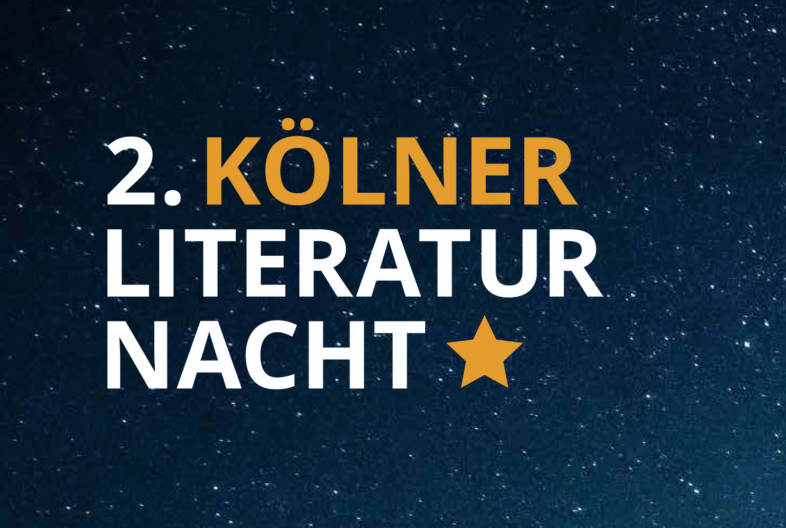 2. Kölner Literaturnacht